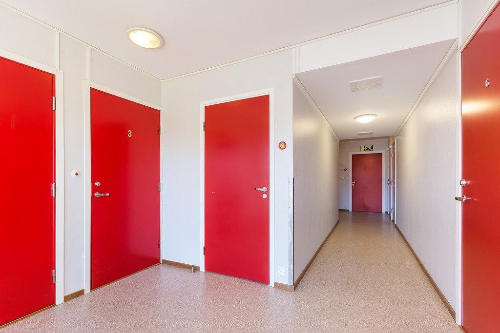Korridor plan ett.