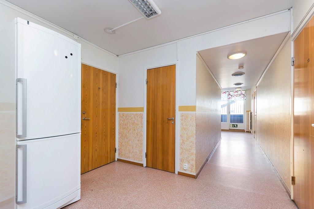 Korridor plan två.