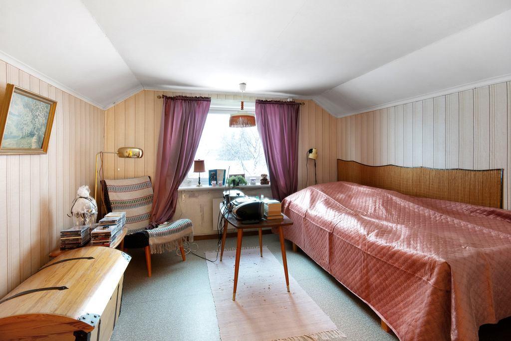 Sovrum i lägenhet 2.