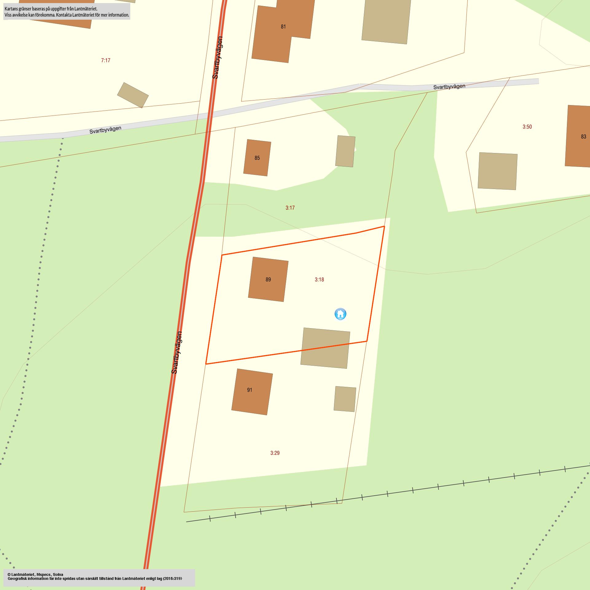 Svartbyvägen 89