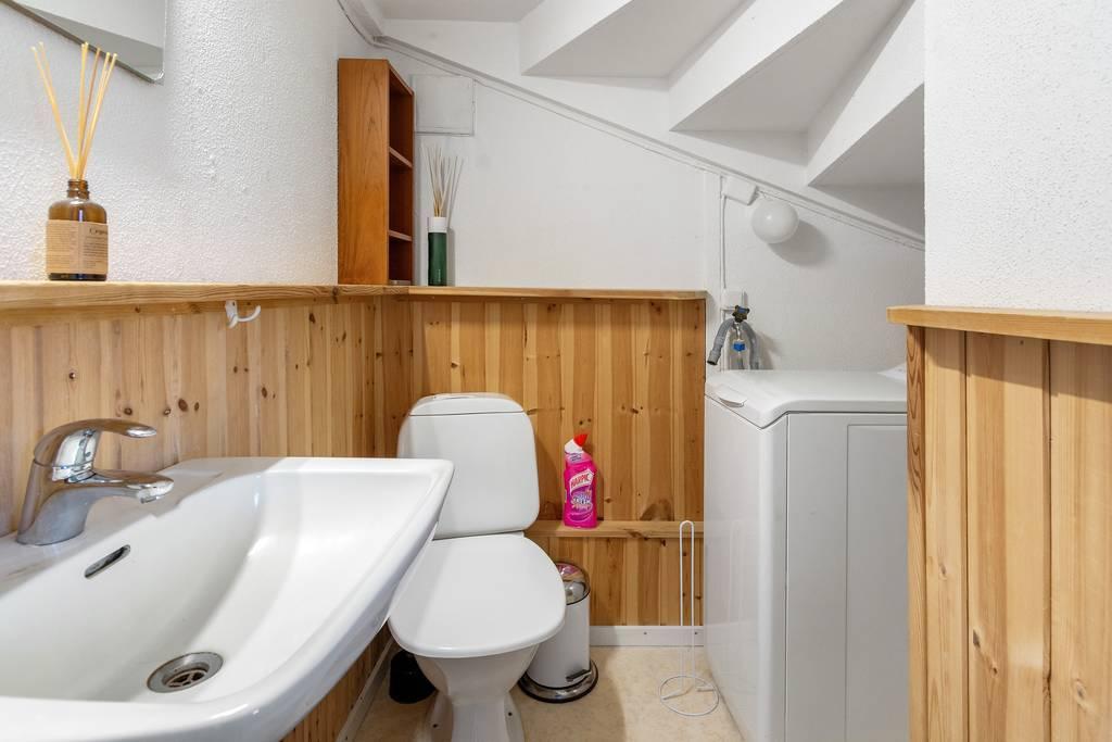 WC under trapp