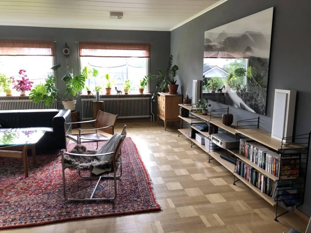 Vardagsrum möblerat ( säljarens bild )