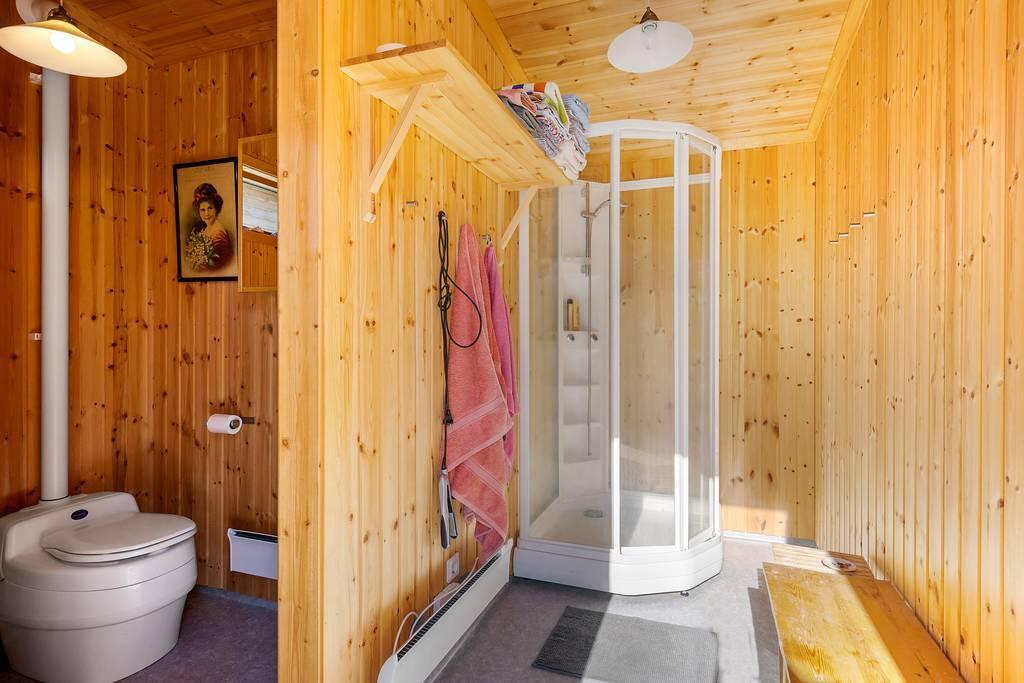 Dusch och toalett (Separett)
