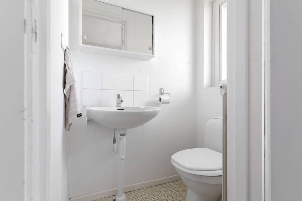Toalett på entréplan