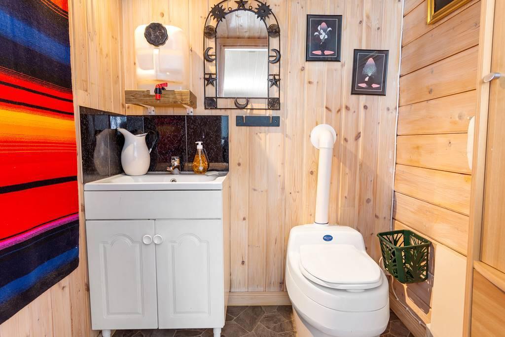 Huvudstugans WC