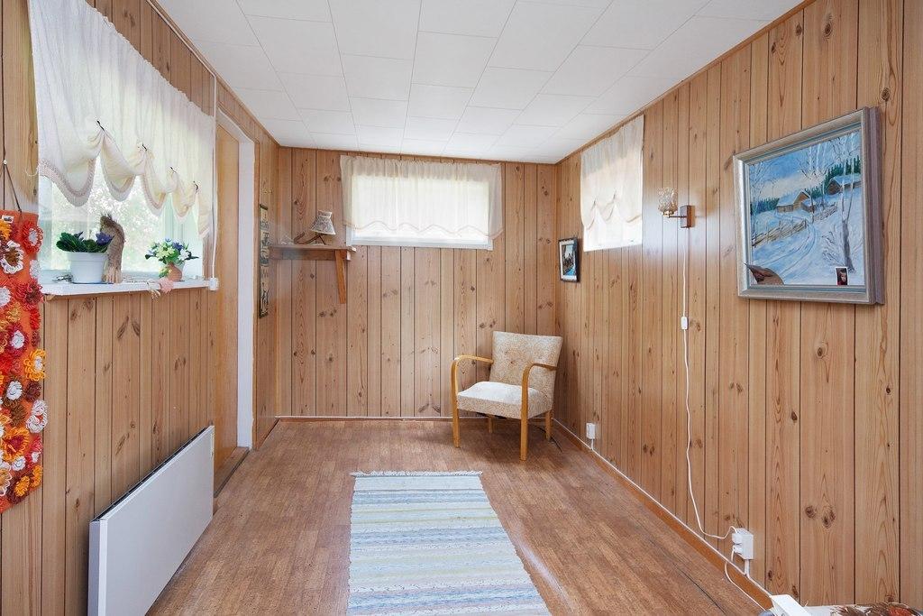 Gästhus 2. Rum 2 med sovplats.