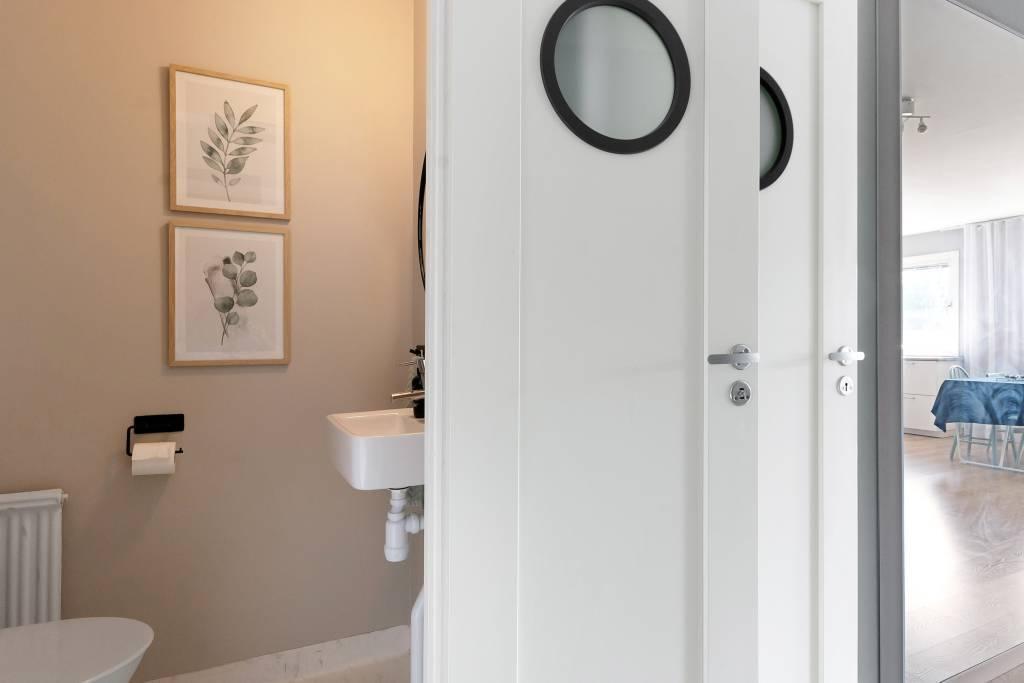 Lilla badrummet vid entre